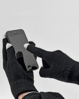 Guanti da uomo con touch screen