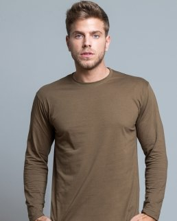 T-shirt uomo Regular manica lunga