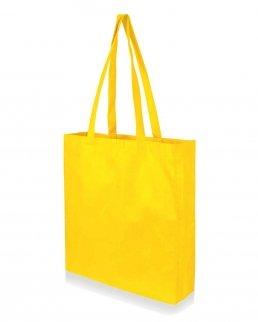 Shopper in TNT con soffietto laterale