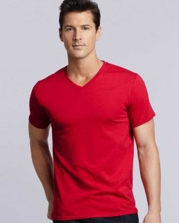 T-shirt scollo a V Premium Cotton