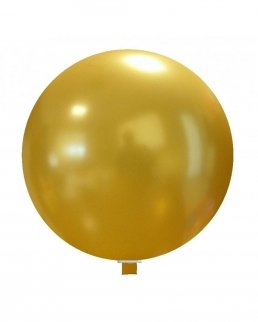 Pallone gigante rotondo 60 cm colori metallizzati