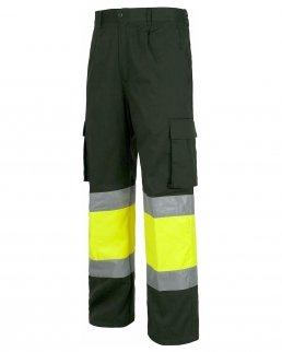 Pantalone multitasche alta visibilità Classe 1/2