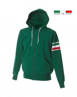 Felpa made in Italy 100% cotone
