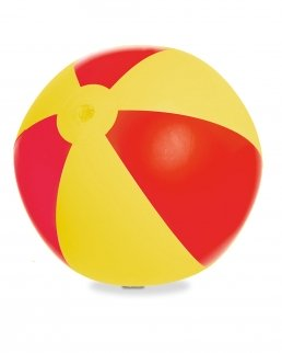 Pallone gonfiabile da spiaggia due colori
