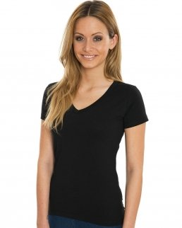 T-shirt donna Organic con scollo a V