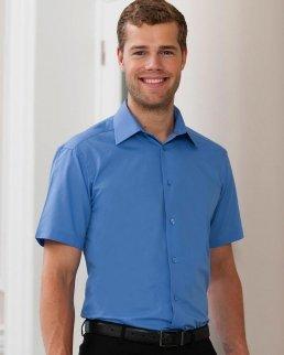 Camicia uomo popeline maniche corte