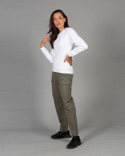 Pantalone multitasche elasticizzato Thailand Lady