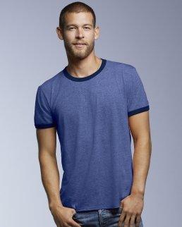 T-shirt Basic Fashion Ringer