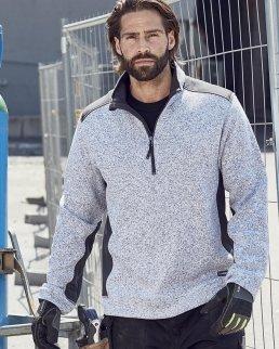 Felpa da lavoro Knitted Fleece Half-Zip - Uomo