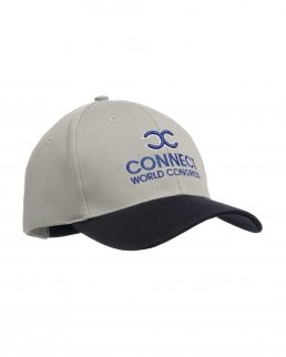 Cappellino da baseball con 6 pannelli