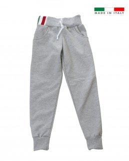 Pantalone bambino in felpa made in Italy Sorrento boy