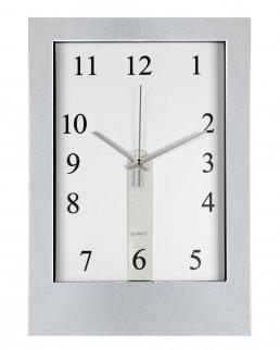 Orologio da parete in plastica fornito con due quadranti