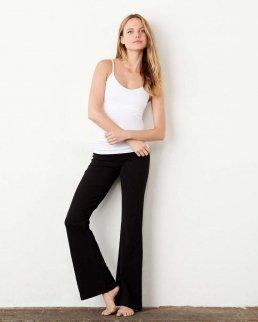 Pantaloni donna Fitness cotton spandex