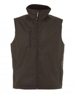 Gilet in nylon con fodera in pile antipilling Norwich