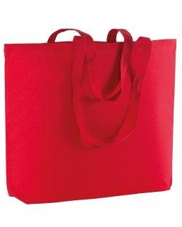 Shopper in cotone maxi con soffietto da 135 gr