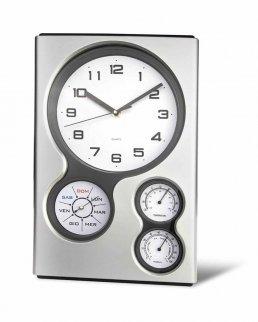 Orologio da parete  con igrometro e lancetta