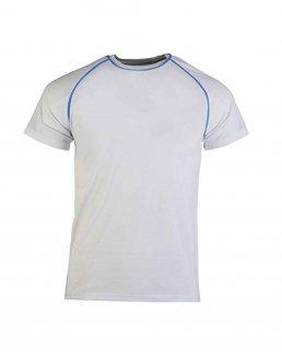 T-shirt adulto tessuto mesh Tekno adatta alla stampa sublimatica