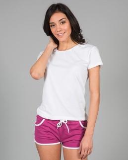 Pantalone corto in felpa leggera Creta lady