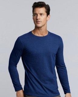 T-shirt uomo maniche lunghe Gildan Softstyle