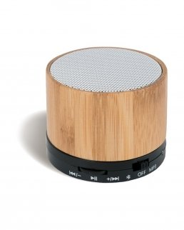 Speaker bluetooth in bambù