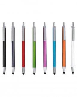 Penna touch slim metalizzata