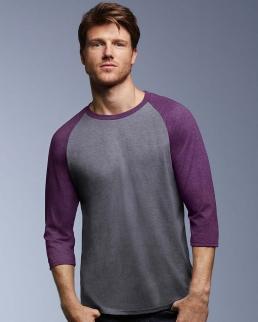 T-shirt Triblend maniche 3/4