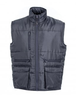 Gilet Coventry in nylon lucido impermeabile