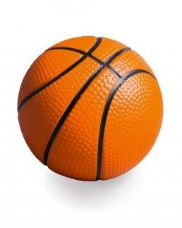 Antistress a forma di palla da basket.