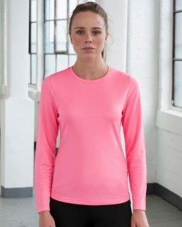 T-shirt donna maniche lunghe Cool T