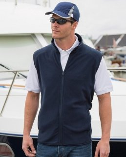 Gilet Micro Fleece Uomo
