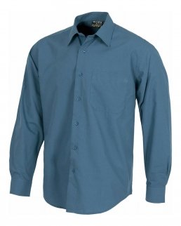 Camicia da lavoro maniche lunghe con taschino