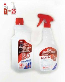 Detergente disinfettante 1 litro concentrato