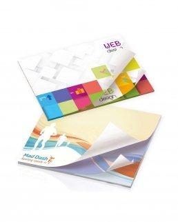 BIC® blocco 50 Fogli Adesivi con stampa alternata101 mm x 75 mm