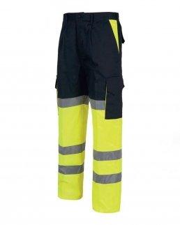 Pantalone multitasche bicolore certificato