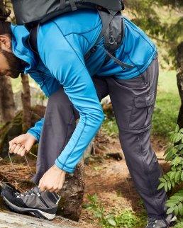 Pantaloni uomo da trekking 2 in 1
