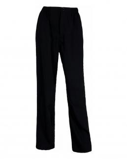 Pantalone con fondo dritto con elastico in vita