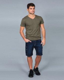 Pantalone jeans corto Dakota