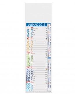 Calendario silhouette Multicolor