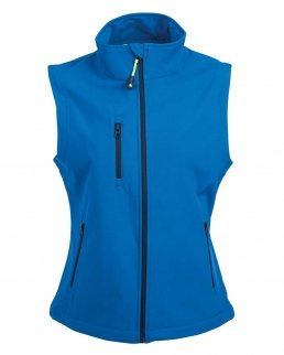 Gilet in soft shell a due strati impermeabile Tarvisio Lady