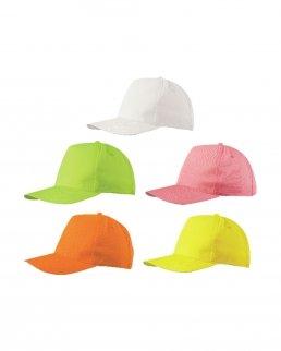 Cappellino 5 Pannelli Fluorescente