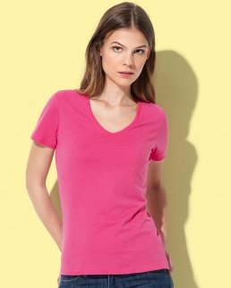 T-shirt con collo a V Classic V-neck