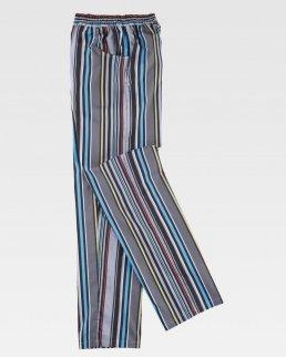 Pantalone da cuoco con elastico