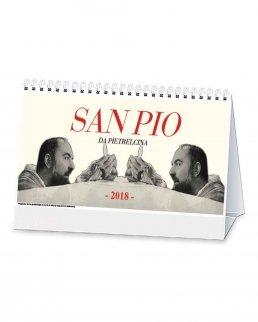 Calendario trimestrale da tavolo San Pio