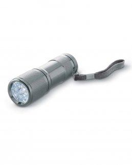 Torcia in metallo 9 LED