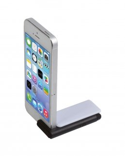 Sostegno per smartphone con puntatore touch e pulisci schermo