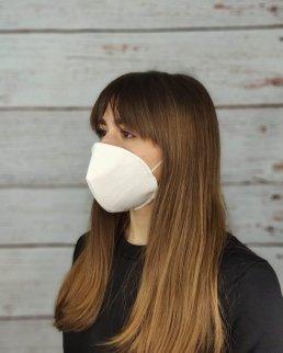 Mascherina in cotone personalizzabile