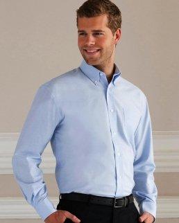 Camicia Oxford maniche lunghe