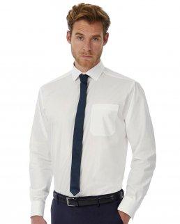 Camicia uomo popeline maniche lunghe Heritage