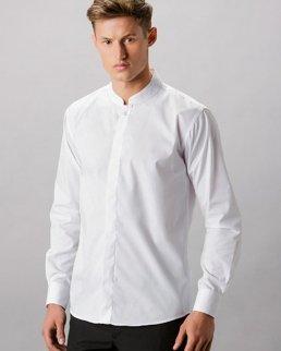 Camicia da uomo collo alla coreana
