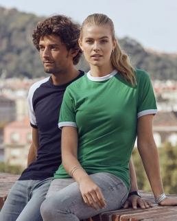 T-shirt bicolore Raglan-T